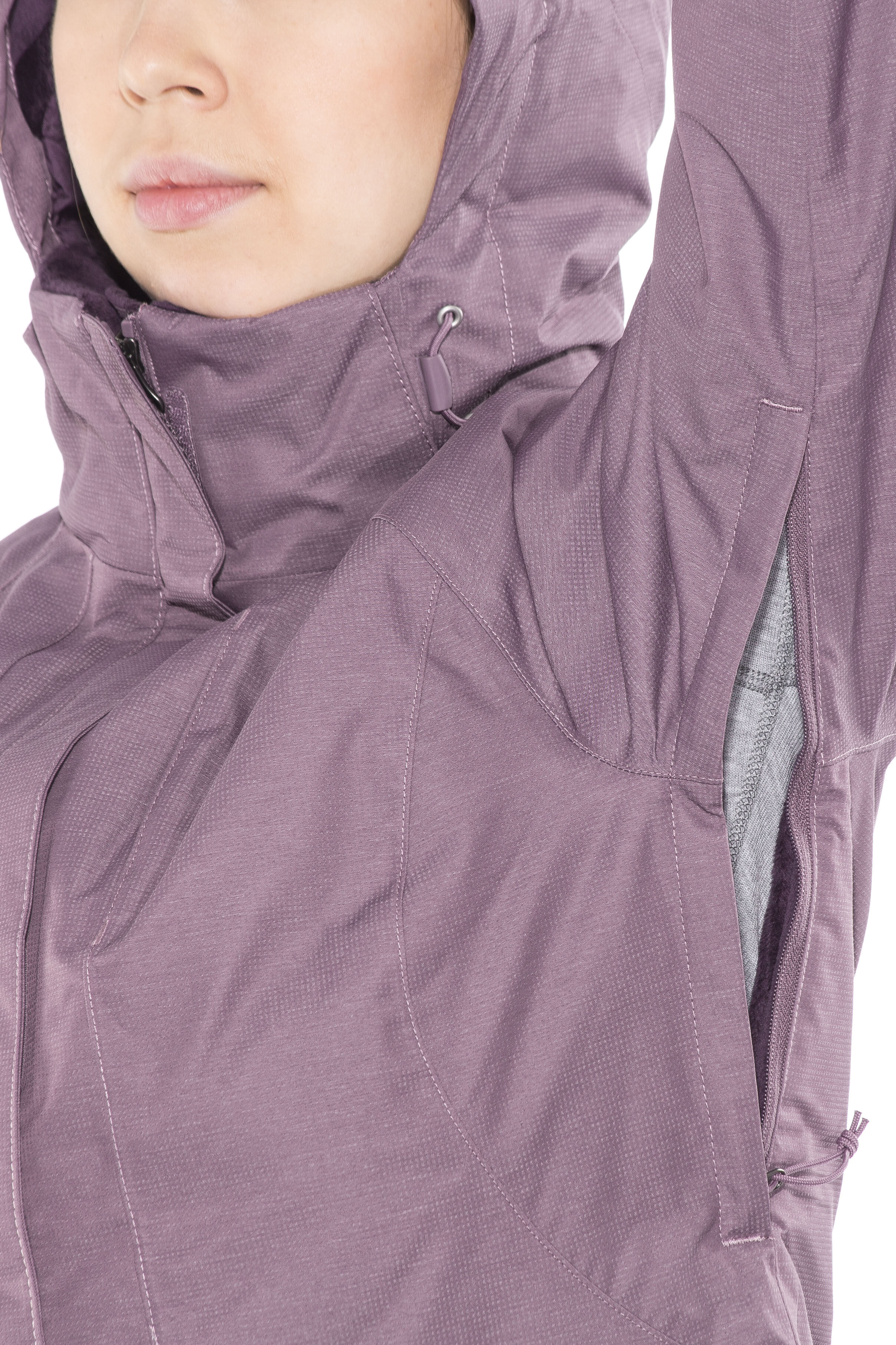 The North Face Inlux Insulated Jacket Women Purple At